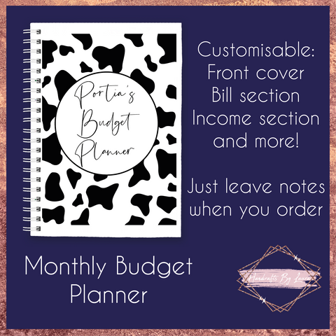 Personalised Personal Budget Planner