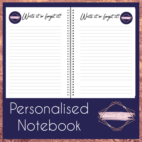 Personalised Business Notebook