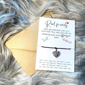 Sweary Real Friends - Wish Bracelet