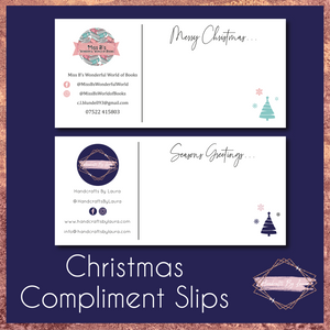 Christmas Compliment Slips