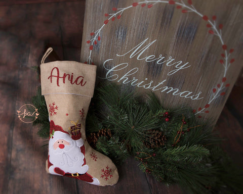 Deluxe Christmas Traditional Style Stockings