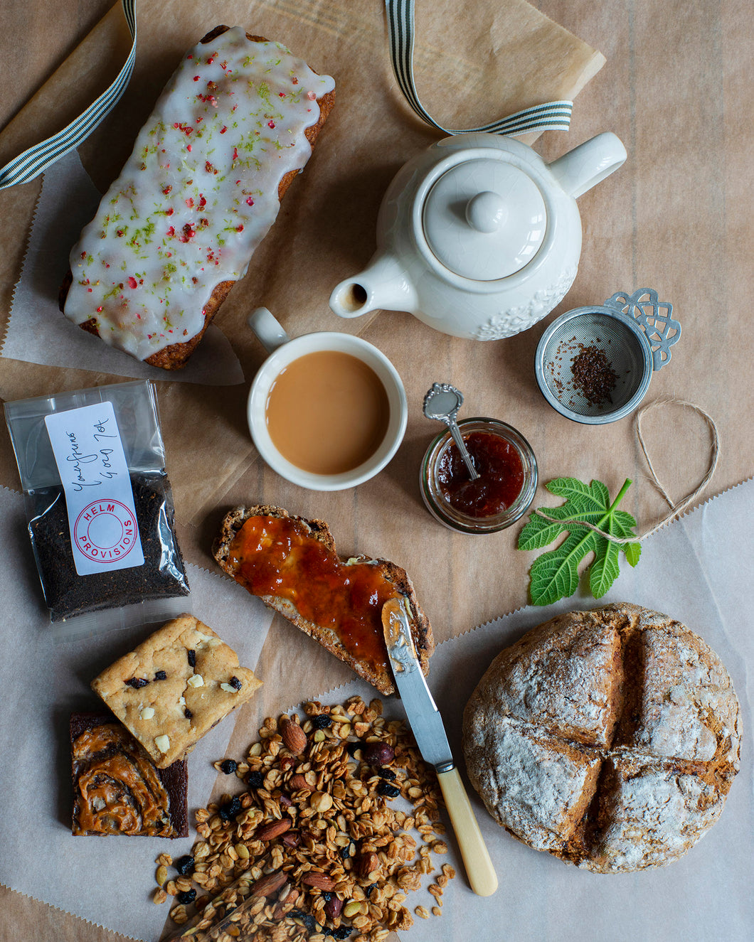 AUGUST TEA + SWEET PROVISIONS BOX