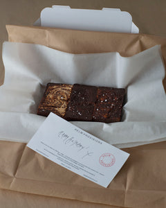 LETTERBOX BROWNIES