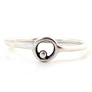 Sterling Silver Orbit Ring