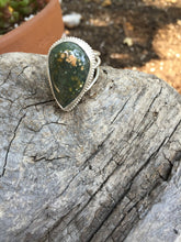 Load image into Gallery viewer, Ocean Jasper Statement Ring in Sterling Silver, Size 7.5