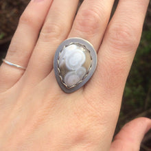 Load image into Gallery viewer, Ocean Jasper Ring in Sterling Silver