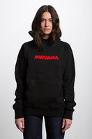 Happy People x Mwuana Black Hoodie