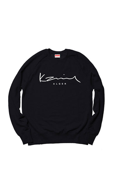 Happy People x Karim Alger Black Sweatshirt