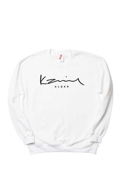 Happy People x Karim Alger White Sweatshirt