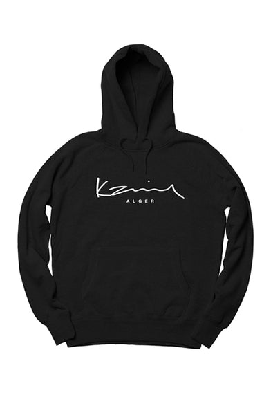 Happy People x Karim Alger Black Hoodie