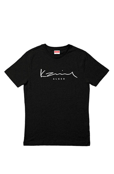 Happy People x Karim Alger Black T-shirt