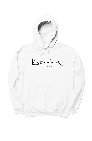 Happy People x Karim Alger White Hoodie