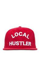 Local Hustler Red Corduroy Cap
