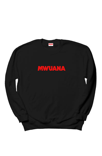Happy People x Mwuana Black Sweatshirt