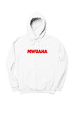 Happy People x Mwuana White Hoodie