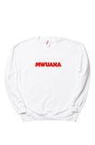 Happy People x Mwuana White Sweatshirt