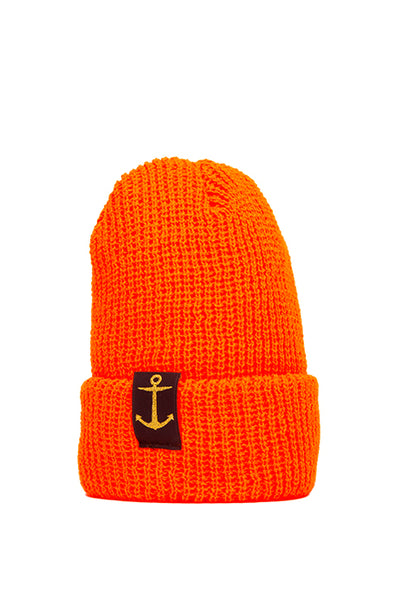 Zissou Orange Watch Cap