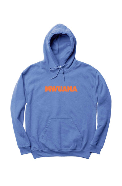 Happy People x Mwuana Blue Hoodie