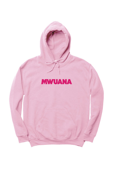 Happy People x Mwuana Pink Hoodie