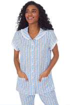 Tyrolean Heart Cotton Bermuda Set
