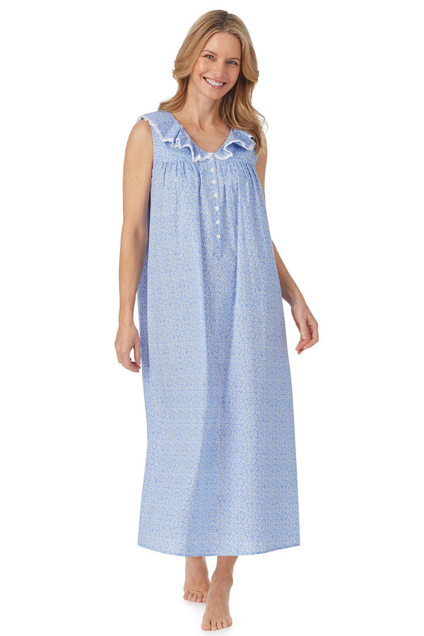 Daisy Cotton Dream Long Nightgown Plus