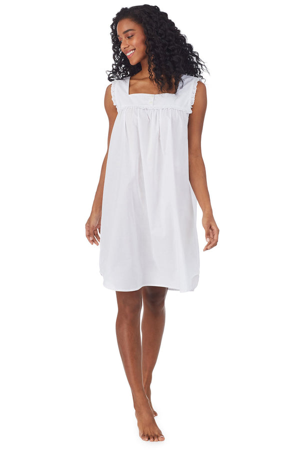 White Cotton Dream Chemise