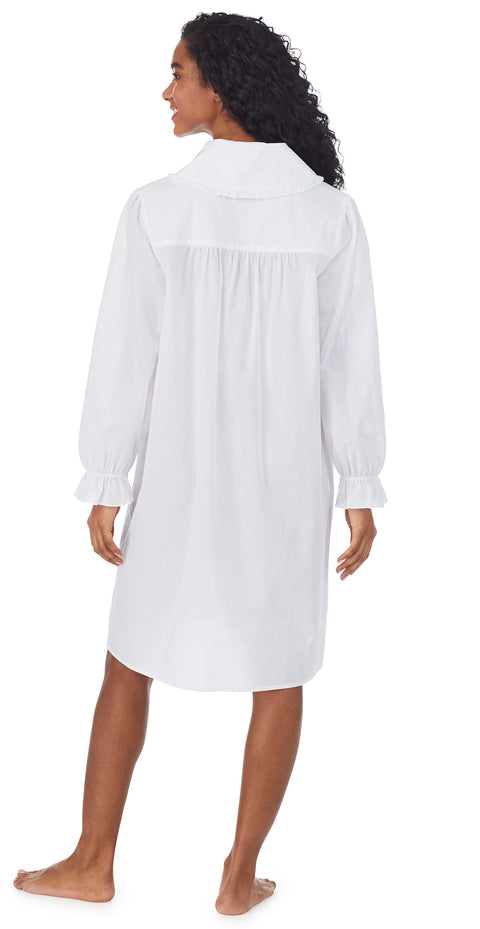 White Cotton Dream Short Robe/Dress