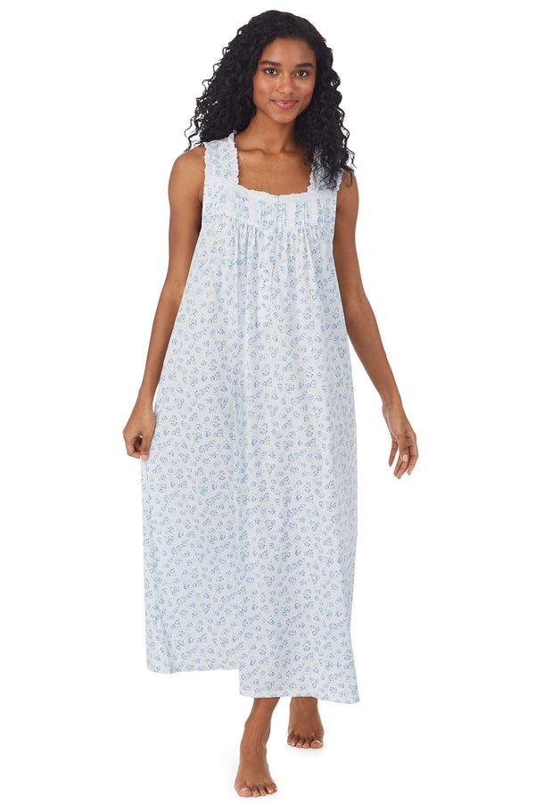 Tulip Knit Long Nightgown