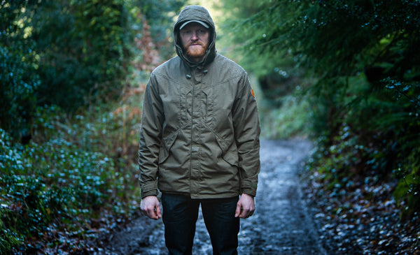 HEXWORTHY WATERPROOF JACKET (OLIVE)
