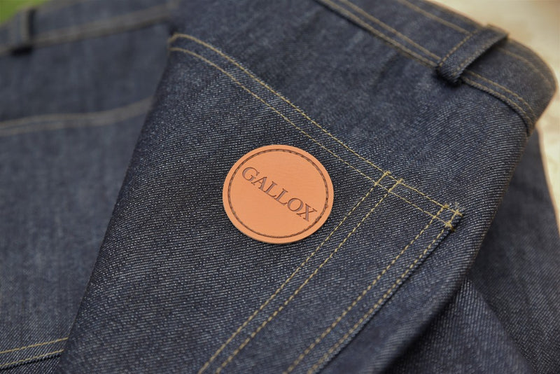 PORLOCK WORK JEANS IN COTTON AND RECYCLED POLYESTER MIX