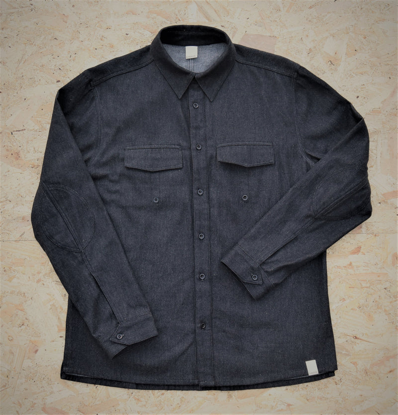 BLACKMOOR ORGANIC COTTON DENIM SHIRT