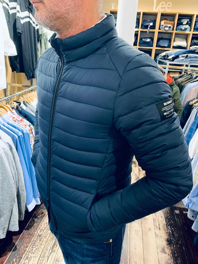 ECOALF jacket in navy from Gere Menswear