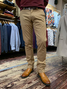 Matinique camel chino from Gere Menswear