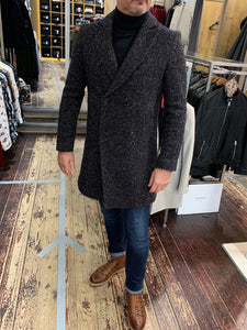 Matinique grey/brown fleck coat