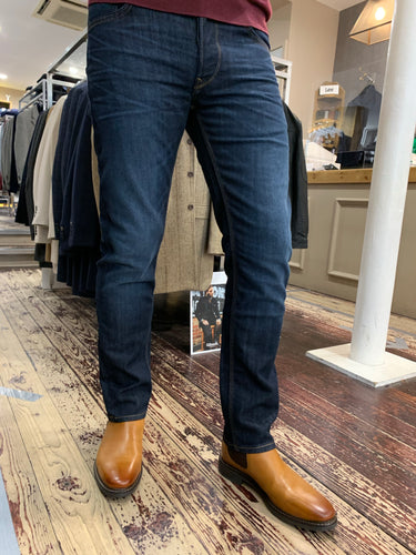 LEE Daren straight leg jean in dark wash from Gere Menswear