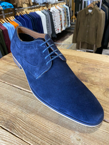 Front London Cartier blue suede shows from Gere Menswear