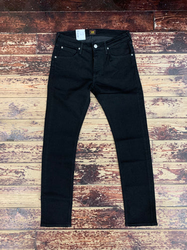 Lee 'Luke' slim tapered flex jeans in true black