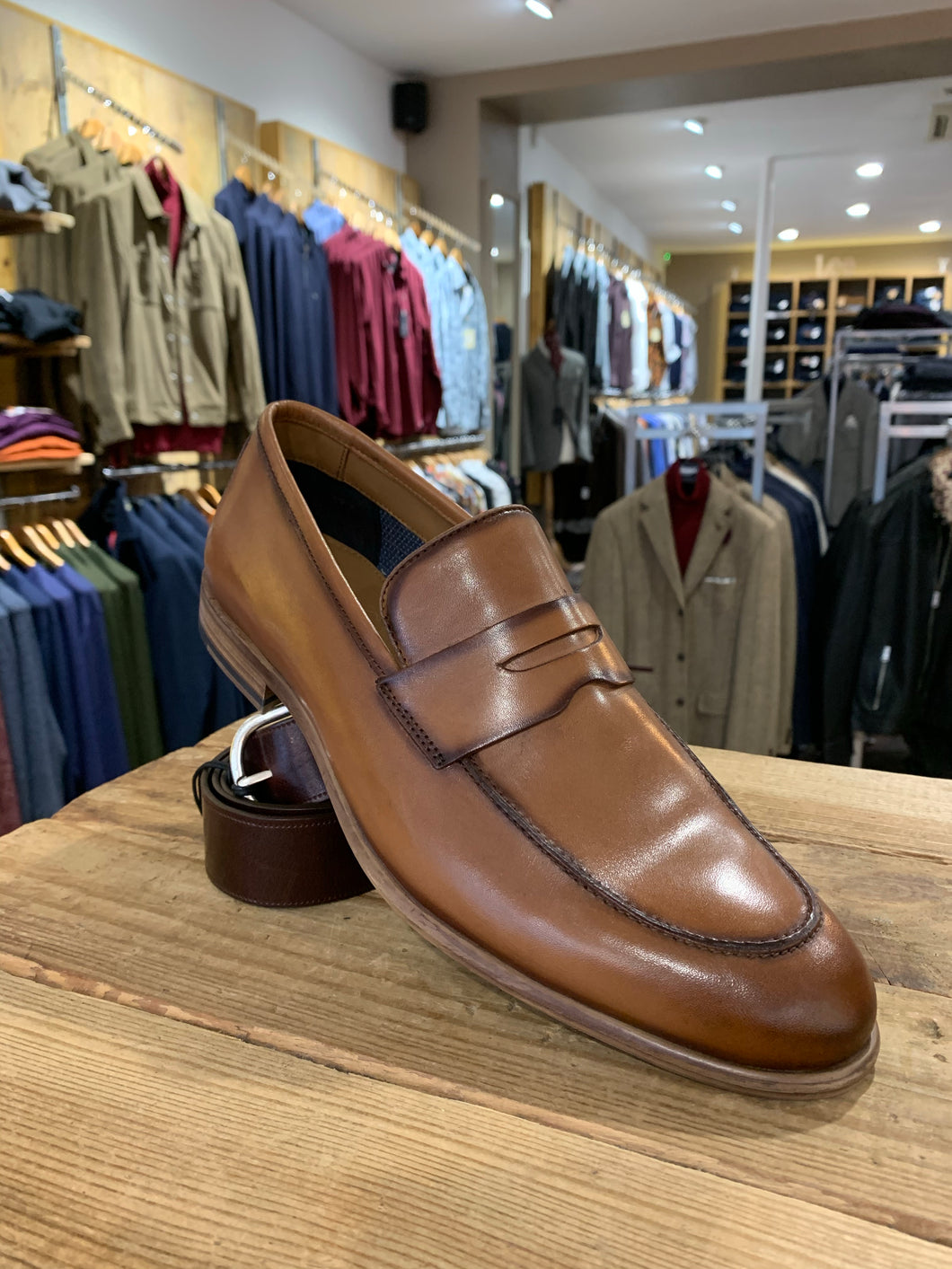 Paolo Vandini brown loafer