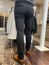 Load image into Gallery viewer, Matinique slim fit chino in grey - rear view from Gere Menswear