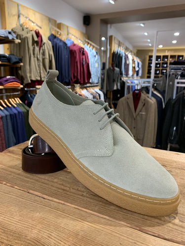 Fred Perry suede casual shoe from Gere Menswear