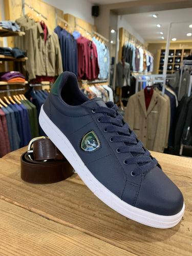 Fred Perry trainers in navy from Gere Menswear