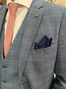 Marc Darcy 'Harry' blue suit separates range (waistcoat, jacket and trousers sold separately)