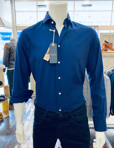 Delsiena blue shirt from Gere Menswear