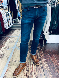 Lee 'Luke' slim tapered jean in washed blue from Gere Menswear