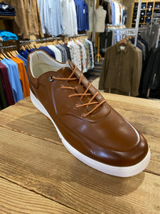 Azor Marcus brown thick sole pump from Gere Menswear