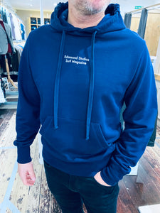 Edmmond Studio Surf Magazine hoodie in royal blue from Gere Menswear