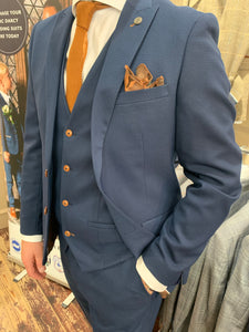 Marc Darcy 'Max Royal' blue suit separates range (waistcoat, jacket and trousers sold separately)