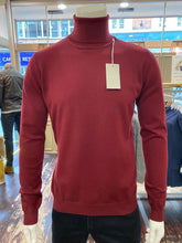 Load image into Gallery viewer, Sseinse rollneck in berry from Gere Menswear
