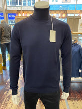 Load image into Gallery viewer, Sseinse rollneck jumper in navy from Gere Menswear
