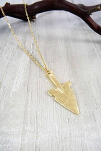 Arch Your Arrow Necklace